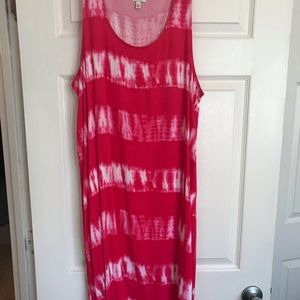 Hi low dress or coverup